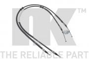 Трос стоянкового (ручного) гальма NK 9036104