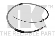 Трос стояночного (ручного) тормоза NK 9039165