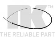 Трос стоянкового (ручного) гальма NK 904324