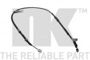 Трос стояночного (ручного) тормоза NK 9045147