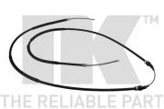 Трос стоянкового (ручного) гальма NK 904744