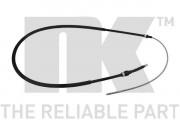 Трос стояночного (ручного) тормоза NK 904755