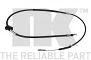 Трос стояночного (ручного) тормоза NK 904776