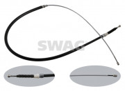 Трос стояночного (ручного) тормоза SWAG 30936347