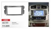 Переходная рамка Carav 11-205 Toyota Avalon 2010+, 2 Din