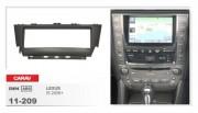 Переходная рамка Carav 11-209 Lexus IS (2006+), 1 DIN