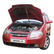 Амортизатор капота (газовый упор капота) Euro-Upor EU-CH-AVE-01-1 для Chevrolet Aveo T200 (2002-2008)