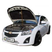 Амортизатор капота (газовый упор капота) Euro-Upor EU-CH-CRU-01-1 для Chevrolet Cruze (2008+)