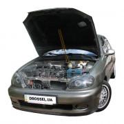 Амортизатор капота (газовый упор капота) Euro-Upor EU-DA-LAN-01-1 для Daewoo Lanos (1998+)