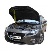 Амортизатор капота (газовый упор капота) Euro-Upor EU-MA-3-03-1 для Mazda 3 BM (2012+)