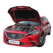 Амортизатор капота (газовый упор капота) Euro-Upor EU-MA-6-03-1 для Mazda 6 GJ (2012+)