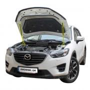 Амортизаторы капота (газовые упоры капота) Euro-Upor EU-MA-CX5-01-2 для Mazda CX-5 (2011-2016) 2шт