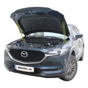 Амортизаторы капота (газовые упоры капота) Euro-Upor EU-MA-CX5-02-2 для Mazda CX-5 (2017+) 2шт