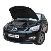 Амортизаторы капота (газовые упоры капота) Euro-Upor EU-MA-CX7-01-2 для Mazda CX-7 (2006-2012) 2шт
