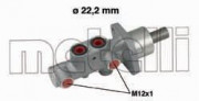 Головний гальмівний циліндр METELLI 05-0542