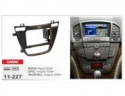 Переходная рамка Carav 11-227 Opel Insignia (2008+), Vauxhall Insignia (2008+) / Buick Regal (2008+), 2 DIN