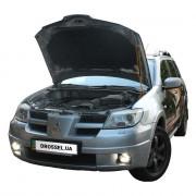 Амортизатор капота (газовый упор капота) Euro-Upor EU-MI-OUT-01-1 для Mitsubishi Outlander 1 (2003-2008)