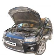 Амортизаторы капота (газовые упоры капота) Euro-Upor EU-MI-JFG-02-2 для Mitsubishi Outlander XL JFG (2010-2012) 2шт