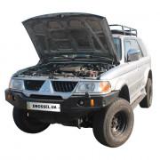 Амортизаторы капота (газовые упоры капота) Euro-Upor EU-MI-PSP-01-2 для Mitsubishi Pajero Sport 1 (1998-2008) 2шт