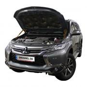 Амортизаторы капота (газовые упоры капота) Euro-Upor EU-MI-PSP-03-02 для Mitsubishi Pajero Sport 3, L200 (2015+) 2шт