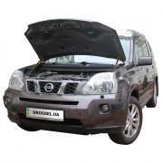 Амортизаторы капота (газовые упоры капота) Euro-Upor EU-NI-XTR-02-02 для Nissan X-Trail T31 (2006-2014) 2шт