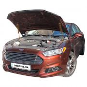 Амортизаторы капота (газовые упоры капота) Euro-Upor EU-FO-MON-05-02 для Ford Fusion 2, Mondeo 5 (2012+) 2шт
