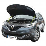 Амортизаторы капота (газовые упоры капота) Euro-Upor EU-RE-KAD-01-2 для Renault Kadjar (2015+) 2шт