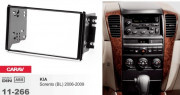Переходная рамка Carav 11-266 для Kia Sorento (BL) (2006-2009), 2 DIN
