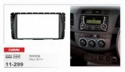 Переходная рамка Carav 11-299 Toyota Hilux 2011+, 2 Din