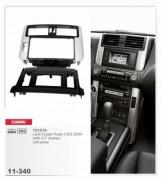 Переходная рамка Carav 11-340 Toyota Land Cruiser Prado 150 2009+ (with 4.2'' display), 2 Din