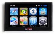 GPS-навигатор Synteco Navi E654 HD
