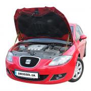 Амортизаторы капота (газовые упоры капота) Euro-Upor EU-SE-LEO-02-2 для Seat Leon 2 (2005-2012) 2шт