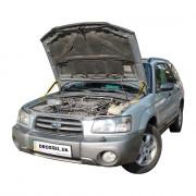 Амортизаторы капота (газовые упоры капота) Euro-Upor EU-SU-FOR-03-2 для Subaru Forester 3 (2002-2008) 2шт