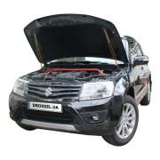 Амортизаторы капота (газовые упоры капота) Euro-Upor EU-SU-GRA-02-2 для Suzuki Grand Vitara 2 (2005+) 2шт