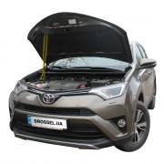 Амортизатор капота (газовый упор капота) Euro-Upor EU-TO-RAV-04-1 для Toyota Rav4 IV (2013-2018)