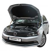 Амортизаторы капота (газовые упоры капота) Euro-Upor EU-VW-JET-06-2 для Volkswagen Jetta 6 (2011+) 2шт