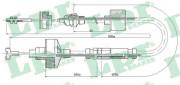 Трос сцепления LPR C0309C