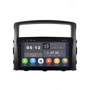 Штатная магнитола Sound Box SBM-8128 для Mitsubishi Pajero Wagon 4 (Android 9.0)