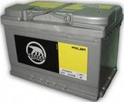 Аккумуляторная батарея Baren 574102068 Polar 74 А/Ч (Правый+)