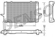 Радиатор охлаждения двигателя DENSO DRM33043