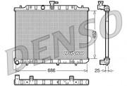 Радиатор охлаждения двигателя DENSO DRM46007