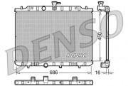 Радиатор охлаждения двигателя DENSO DRM46009