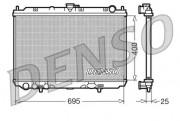 Радиатор охлаждения двигателя DENSO DRM46016