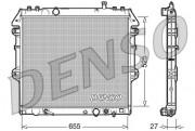 Радиатор охлаждения двигателя DENSO DRM50045