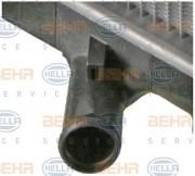 Радиатор охлаждения двигателя HELLA 8MK 376 707-411