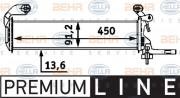 Радиатор охлаждения двигателя HELLA 8MK 376 712-661