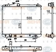 Радиатор охлаждения двигателя HELLA 8MK 376 790-231