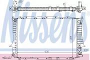 Радиатор охлаждения двигателя NISSENS 60459