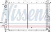 Радиатор охлаждения двигателя NISSENS 61873
