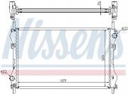 Радиатор охлаждения двигателя NISSENS 62044A